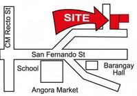 Foreclosed Vacant Lot (LIP-100) for Sale Sto Rosario Subdivision Lucena Quezon