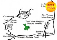 Foreclosed Vacant Lot (LIP-031) for Sale Taal View Heights Nature Villas Brgy Aya Talisay Batangas