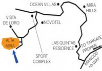 Foreclosed Vacant Lot (B-038 L4B6) for Sale Alta Mira Subdivision Puerto Azul Ternate Cavite